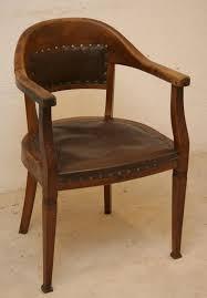 chaise de bureau antique fauteuil de bureau en bois helvia co