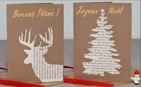 carte de voeux à faire soi même gratuite idées cadeaux