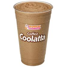 Dunkin Donuts Coffee Coolata