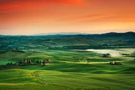 Wallpaper Tuscany 5k 4k 8k Italy Landscape Village