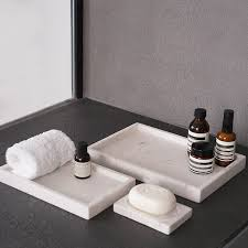 concise nordeuropa rechteck marmor tablett möbel für tablett tablett waschen badezimmer disc