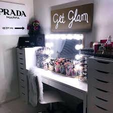 White Makeup Desk With Lights by Broadway Lighted Vanity Makeup Desk Uk Desks With Lights Bathroom