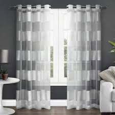 Navy And White Striped Curtains Canada by Stripe Curtains U0026 Drapes Shop The Best Deals For Dec 2017