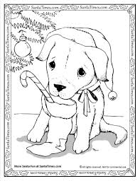 Dentist Puppy Page Christmas Coloring Pictures Santa Toddler And Pages Of