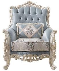 casa padrino luxus barock wohnzimmer sessel mit dekorativem kissen hellblau creme weiß gold 97 x 90 x h 120 cm edle barock wohnzimmer möbel