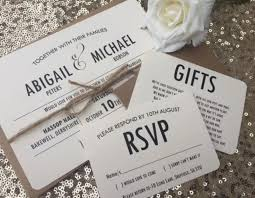 Abigail Rustic Wedding Invitations From Thevowsheffield
