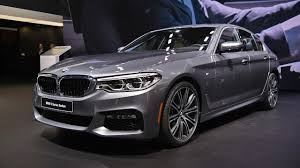 2017 BMW 5 Series First Look 2017 Detroit Auto Show