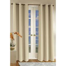 Door Curtain Panels Target by Gray Brown Leaves And Birds Pattern Curtain On The Glass Door With