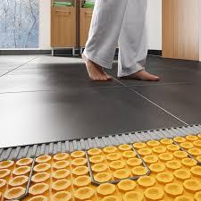 heated floors schluter