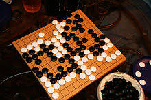 A Finished Beginners Game On 13x13 Board Go Software Can Reach Stronger Levels Smaller Size
