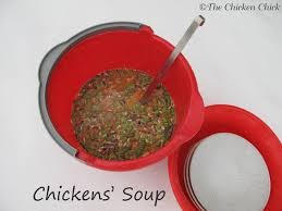 The Chicken Chick®: Chickens' Soup, A Healthy Winter Treat For ... Diy Treat Basket Backyard Chickens Treating Bumblefoot In Chicken Coops Homemade Coops Backyard Chickens Page 1 Garden Delights Homemade Scratch Block And Boredom Buster For 175 Best Homestead Images On Pinterest Backyard Chickensthe Girls Get Treats Being Good Layers The Chick 20 Winter Busters Causes Prevention Treatment Treats Guide Dont Love Your Pets To Getting A Cold Treat Youtube Learn The Benefits Of Pumpkin Your Flock From Tillys