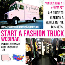 American Mobile Retail Association: June Webinar: Start A Fashion ... American Mobile Retail Association Classifieds Fashion Truck Bunnings Warehouse Kaboodle Kitchen Mobile Display Unit Fashion Trucks Across America Business In Rottenraw Shop Trailer Suppliers And Manufacturers Kate Spade Fantastic Brand Leverage Sxsw 2012 Hiiyou Products Coachman Popup Marketing For Sale Georgia Le Start A Business Well Show You How Nike Athletic Traing 2010 Media Showcase Football