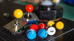 Raspberry Pi Mame Cabinet Tutorial by Choosing Buttons And Joysticks For A Custom Arcade Cabinet Tested