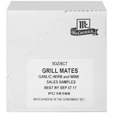 Mccormick Pumpkin Pie Spice Nutrition Facts by Mccormick Grill Mates Garlic Herb U0026 Wine Marinade Hy Vee Aisles