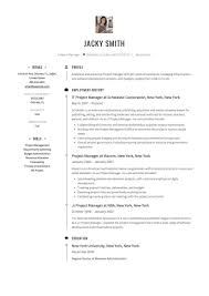 Resume Examples Experienced IT Project Manager Sample