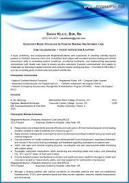 Nursing Cv Template New Grad Resume Sample Rn