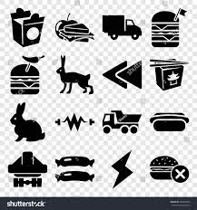 Fast Icons Set Set 16 Fast Stock Vector (Royalty Free) 660494029 ...