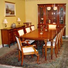 Vermont Solid Mahogany Dining Table Set