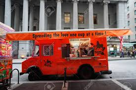 NEW YORK - DECEMBER 12, 2017: NYC Love Street Coffee Food Truck ...