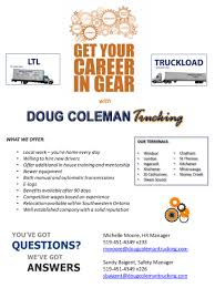Companies That Hire | Transport Training Centres Of Canada Truck Driving Job Fair At United States School Trucker Shortage May Quadruple By 2024 What Carriers Are Doing Mrsinnizter Datrucker Trucking Company Phire Letters Youtube Now Hiring Cross Border Drivers Len Dubois Companies Directory Ipdent Truck Owners Carry The Weight Of Fedex Grounds How To Get A Driver Shiftinggears Local Trucking Companies Courting Qualified Drivers Company Looking Hire Soldiers Getting Out Military That Hire Inexperienced Should Respond Nice Attack Nrs Best Flatbed For A New Student Page 1 Ckingtruth