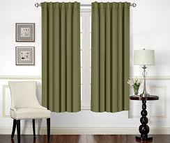 Eclipse Thermaback Curtains Smell by Amazon Com Blackout Room Darkening Curtains Window Panel Drapes