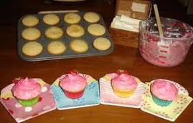 Tinkerbell Cupcakes A Lemon Cake With Raspberry