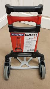 Magna Cart Personal 150 LB Aluminum Folding Hand Truck | EBay Magna Cart Transport Fold Hand Truck Foldable Alinum Heavyduty Personal Folding Rugged Lweight Design Milwaukee Costco Sears Cheap Find Deals On Line At Alibacom Srs Mci Steel Red Best Trucks On The Market Dopehome Dudeiwantthatcom