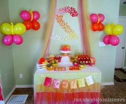 Simple Birthday Decoration Interior Beautiful Ideas From Decorations Charming At Home Table Party