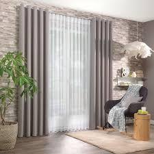 gardine mit dekostoff für ihr wohn oder schlafzimmer