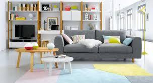 salon canapé gris tendances déco 2014 mobilier canape deco