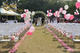 Erica Raymond Outdoor Wedding Decoration Sweet Suites Decorations Pictures Diy
