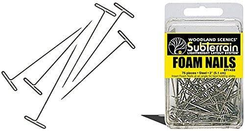 Woodland Scenics ST1432 Foam Nails (75)