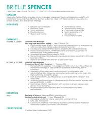 Assistant Managers Are Needed Everywhere Click On Any Of The Resume Examples Below To Get Started