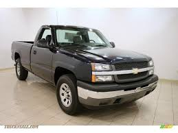 2005 Chevrolet Silverado 1500 Regular Cab 4x4 In Dark Blue Metallic ... 2005 Chevrolet Silverado 2500 Heavy Duty For Sale At Source One Auto Chevy Silverado 1500 44 Used Trucks For Sale Chevrolet Pickup 4wd In Florida Cars Classified Dmax Store Ss Intimidator Pin By Memo On 4x4 Crewcab Lifted In Z71 Crew Cab Black 381345 Past Truck Of The Year Winners Motor Trend Recalls Best Of Republic Dark Blue Metallic F19913 Avery Anniston Auto Sales