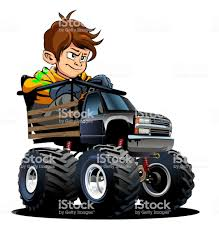 Cartoon Monster Truck With Driver Stock Vector Art & More Images Of ... Cartoon Monster Trucks Kids Truck Videos For Oddbods Furious Fuse Episode Giant Play Doh Stock Vector Art More Images Of 4x4 Dan Halloween Night Car Cartoons Available Eps10 Separated By Groups And Garbage Fire Racing Photo Free Trial Bigstock Driving Driver Children Dinosaur Haunted House Home Facebook Royalty Image Getty