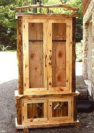 Wooden Gun Cabinet With Etched Glass by Gun Cabinet Or Fit It With Shelves And Have A Rustic Display