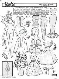 Pin Drawn Barbie Vintage 15