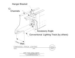 09 54 00131310 Specialty Ceilings Compasso L Track Lighting
