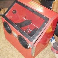 Central Pneumatic Blast Cabinet by Project Photos Pi Pinder Industries