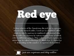 Red Eye A Close Relative