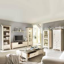 wohnzimmermöbel set lydia in weiß aus kiefer landhausstil