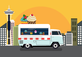 100 Cupcake Truck Vector Download Free Vector Art Stock Graphics Images