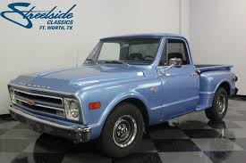 1968 Chevrolet C10   Streetside Classics - The Nation's Trusted ... 1968 Chevrolet Pickup For Sale Classiccarscom Cc1087923 Chevy Truck Has Remained In The Family Classic C10 Streetside Classics Nations Trusted W236 Kissimmee 2012 12ton Connors Motorcar Company Ck Sale Near Cadillac Michigan 49601 Tbar Trucks Barn Find Chevy Stepside 136310 Rk Motors Cars Shdown Auto Sales Drive Your Dream F106 Indy 2016 Gm Heritage Center Archive Trucks