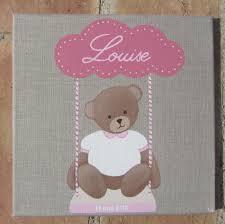 tableau ourson chambre bébé album tableaux bébés drôles à croquer