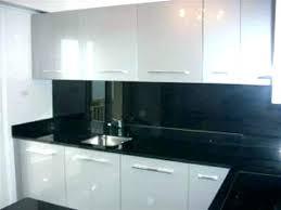 credence cuisine en verre meuble de cuisine noir et blanc meuble cuisine noir meuble de