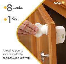 magnetic lock kit for cabinets safety 1st magnetic locking system 1 key and 8 locks