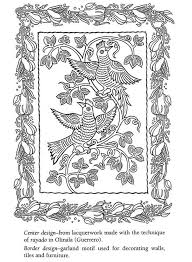 Luxury Mexican Folk Art Coloring Pages 77 On Site With
