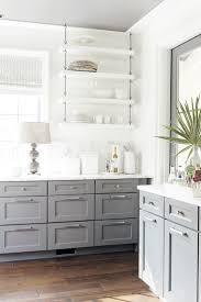 modern gray kitchen cabinets beat monotony with style kitchen
