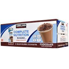 Kirkland Signature Complete Nutrition Shakes 32 Pack 82 Fl Oz