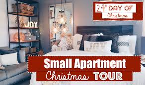 Small Apartment Christmas Decorating 2015 Tour